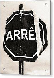 Battered Acrylic Print by Arkady Kunysz