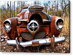 Battered But Still Smiling Acrylic Print by Norm Hoekstra