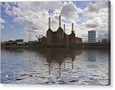 Battersea Power Station London Acrylic Print