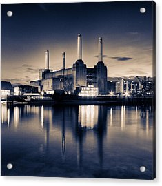 Battersea Power Station London Acrylic Print by Ian Hufton