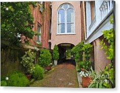 Battery Carriage House Inn Alley Acrylic Print