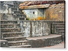 Acrylic Print featuring the photograph Battery Chamberlin by Kate Brown