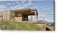 Battery Godfrey Acrylic Print by Robert Rus