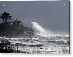Battery Point Storm Acrylic Print