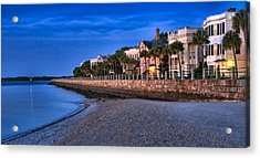 Battery Row Acrylic Print