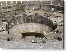 Battery Stevenson Fort Warren Acrylic Print