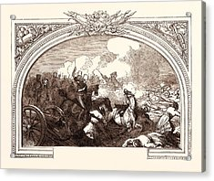 Battle Of Ferozeshah, Lord Gough, December 21st Acrylic Print