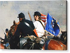 Battle Of Franklin - 2 Acrylic Print