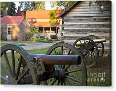 Battle Of Franklin Acrylic Print by Brian Jannsen