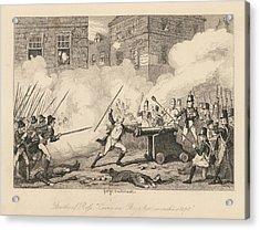 Battle Of Ross Acrylic Print