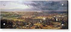 Battle Of Waterloo, 1815, 1843 Acrylic Print
