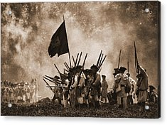 Battle Of Wyoming II Acrylic Print by Jim Cook