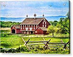 Battlefield Barn Acrylic Print