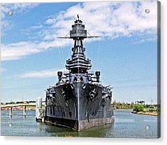 Battleship Texas Acrylic Print