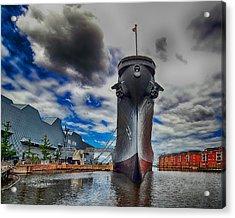 Battleship Wisconsin Acrylic Print