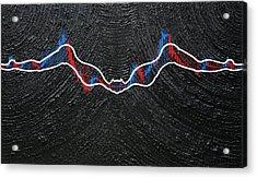 Batwomen - The Chart Acrylic Print by Antonio Wehrli