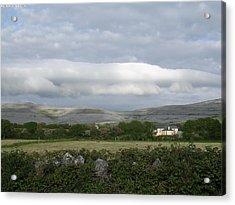 Baughlyvann Clouds Acrylic Print