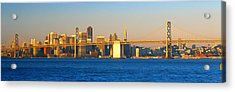 Bay Bridge & San Francisco From Port Acrylic Print