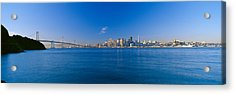 Bay Bridge & San Francisco Acrylic Print