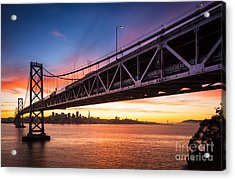 Bay Bridge Expanse Acrylic Print