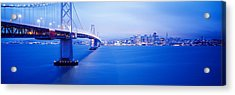 Bay Bridge San Francisco Ca Acrylic Print