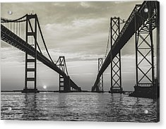 Bay Bridge Strong Acrylic Print
