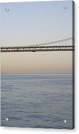 Bay Bridge Acrylic Print by Stuart Hicks