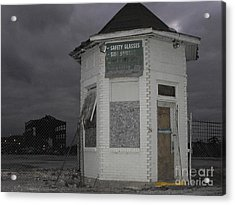 Bay City American Hoist Guard House Acrylic Print