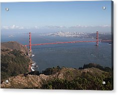 Bay From Marin Acrylic Print by Alison Miles