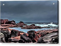 Acrylic Print featuring the photograph Bay Of Fires 3 by Wallaroo Images
