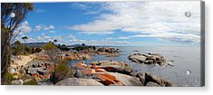 Bay Of Fires Panorama Acrylic Print