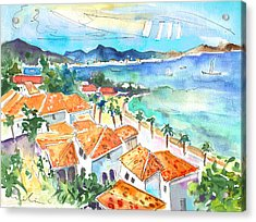 Bay Of Saint Martin Acrylic Print