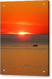 Bay Side Acrylic Print by Andrea Galiffi