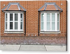 Bay Windows Acrylic Print