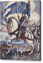 Bayard, Illustration From Bayard The Acrylic Print