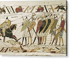 Bayeux Tapestry. 1066-1077. Tapestry Acrylic Print