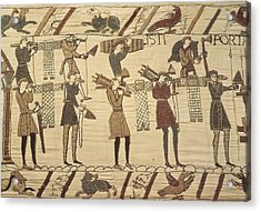 Bayeux Tapestry. 1066-1077. Ttransport Acrylic Print by Everett