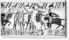 Bayeux Tapestry Acrylic Print by Granger