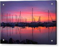 Bayfield Wisconsin Magical Morning Sunrise Acrylic Print