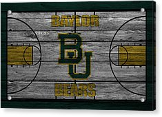 Baylor Bears Acrylic Print by Joe Hamilton