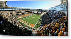 Baylor Gameday No 5 Acrylic Print by Stephen Stookey