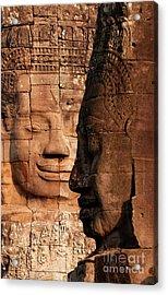 Bayon Faces 02 Acrylic Print