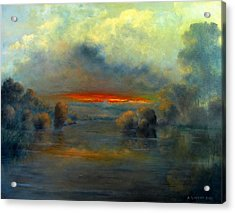 Bayou Evening 22x28 Acrylic Print