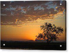 Acrylic Print featuring the photograph Bayview Sunset by Sonya Lang