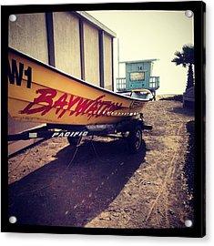Baywatch Acrylic Print