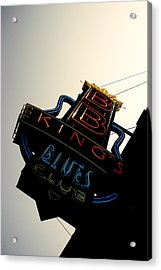 Bb King Blues Club Acrylic Print