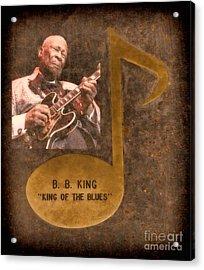 Bb King Note Acrylic Print