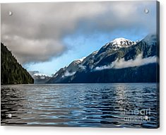 Bc Inside Passage Acrylic Print by Robert Bales