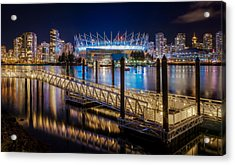 Bc Place Acrylic Print by Alexis Birkill