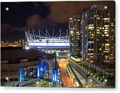 Bc Place  Acrylic Print by Kathy King